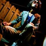 Taking Photos for YUSUKE stylist Kazuma Sato photos Akira Ishitsuka at Back yard of Cineform Toronto, Canada in September